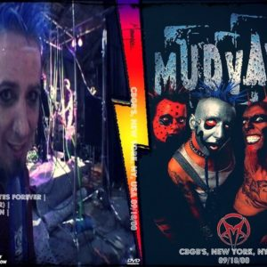 Mudvayne 2000-09-18 CBGB's, New York, NY, USA DVD