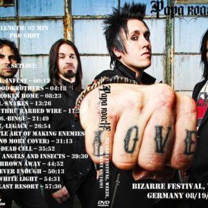 Papa Roach 2001-08-19 Bizarre Festival, Weeze, Germany DVD