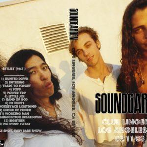 Soundgarden 1988-02-11 Club Lingerie, Los Angeles, CA DVD