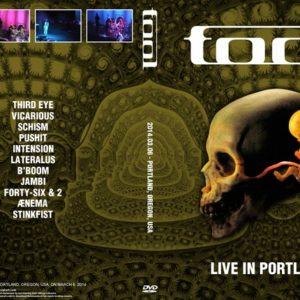 Tool 2014-03-06 Portland, OR DVD