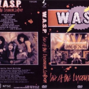 W.A.S.P. 1984-09-24 Lyceum, London, England DVD