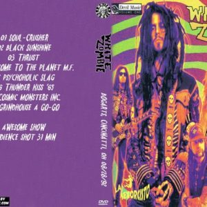 White Zombie 1992-08-28 Bogarts, Cincinatti, OH DVD