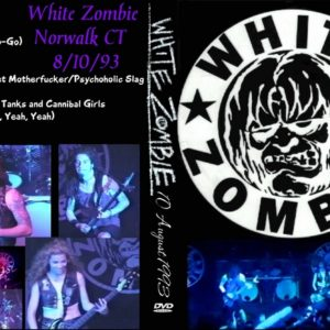 White Zombie 1993-08-10 The Marquee, Norwalk, CT DVD