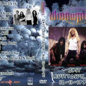 Widowmaker 1993-12-11 Spit Rocks, Levittown, NY DVD