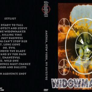 Widowmaker 1995-01-27 Amenia, New York, NY DVD