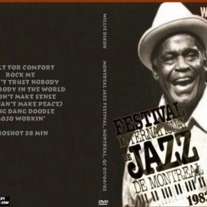 Willie Dixon 1982-07-06 Montreal Jazz Festival, Montreal, QC DVD