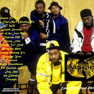 Wu Tang Clan 1997-08-20 East Rutherford DVD