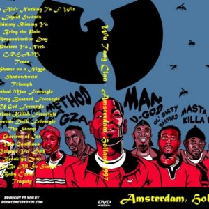 Wu Tang Clan 1997 Amsterdam, Holland DVD
