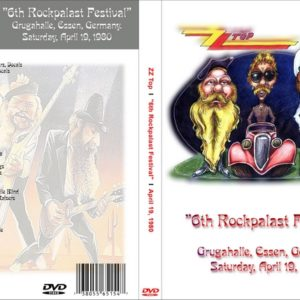 ZZ Top 1980-04-19 Grugahalle, Essen, Germany 2 DVD