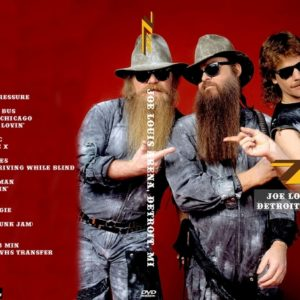 ZZ Top 1986-04-18 Joe Louis Arena, Detroit, MI DVD