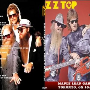 ZZ Top 1990-10-11 Maple Leaf Gardens, Toronto, ON DVD