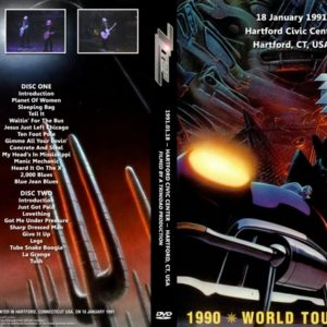 ZZ Top 1991-01-18 Hartford CT 2 DVD