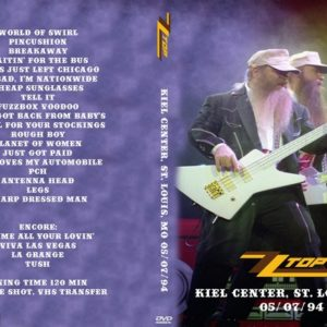 ZZ Top 1994-05-07 Kiel Center, St. Louis, MO DVD