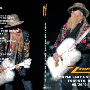 ZZ Top 1994-05-29 Maple Leaf Gardens, Toronto, ON DVD