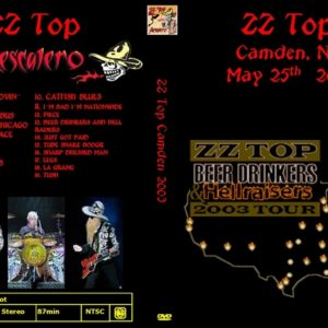 ZZ Top 2003-05-25 Tweeter Center, Camden, NJ DVD