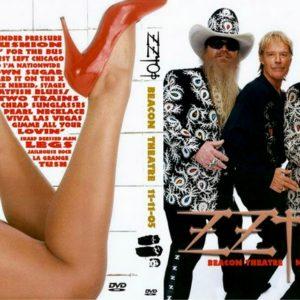 ZZ Top 2005-11-11 Beacon Theater, New York, NY DVD
