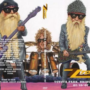 ZZ Top 2007-07-19 Toyota Park, Bridgeview, IL DVD