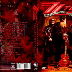 ZZ Top 2007-09-27 Beacon Theatre, New York, NY DVD