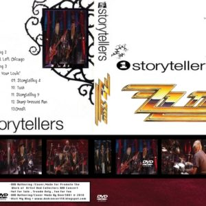 ZZ Top 2009-03-31 VH1 Storytellers, Congress Theatre, Chicago, IL DVD