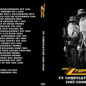 ZZ Top 2009 TV Compilation 1983-2009 DVD