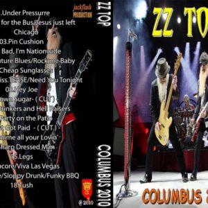 ZZ Top 2010-05-05 Columbus Civic Center, Columbus, GA DVD