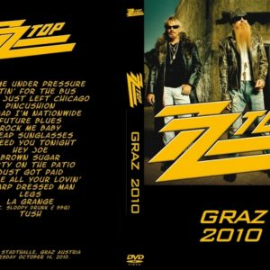 ZZ Top 2010-10-14 Stadthalle, Graz, Austria DVD