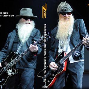 ZZ Top 2012-07-24 Criketbanen, Brondby, Denmark DVD