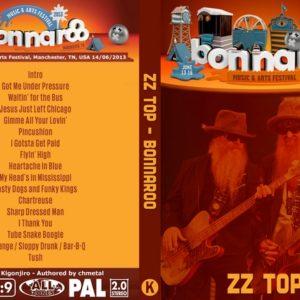 ZZ Top 2013-06-14 Bonnaroo Music & Arts Festival, Manchester, TN DVD
