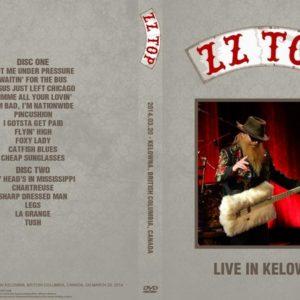 ZZ Top 2014-03-20 Prospera Place, Kelowna, BC 2 DVD
