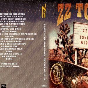 ZZ Top 2014-06-16 Grona Lund, Stockholm, Sweden 2 DVD