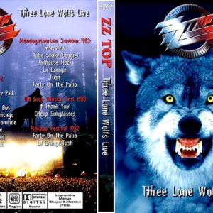 ZZ Top Three Lone Wolfs - Various Venues 1980-1983 DVD