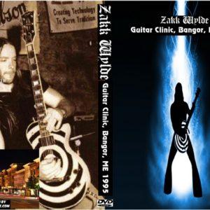 Zakk Wylde 1995 Guitar Clinic, Bangor, ME DVD