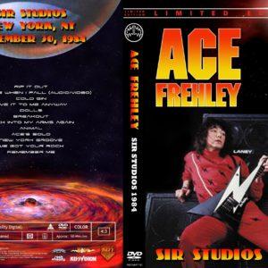 Ace Frehley 1984-11-30 Sir Studios, New York DVD