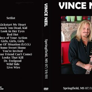Vince Neil 2001-07-19 Springfield, MS DVD