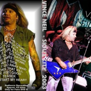 Vince Neil 2003-06-21 Sioux City, IA DVD