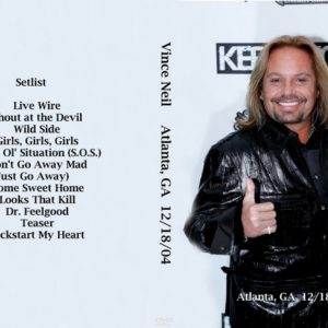 Vince Neil 2004-12-18 Atlanta, GA DVD