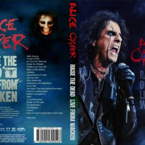 Alice Cooper 2014 Raise The Dead Live From Waken DVD