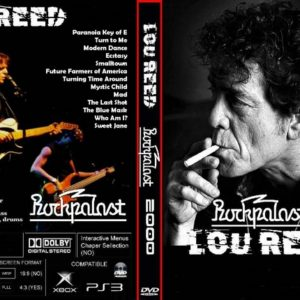 Lou Reed 2000 Rockpalast, Germany DVD