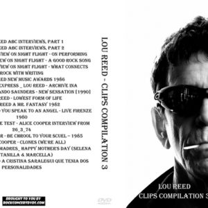Lou Reed - Clips Compilation 3 DVD