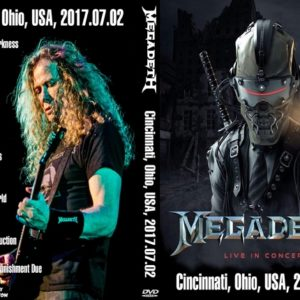 Megadeth 2017-07-02 Cincinnati, OH DVD
