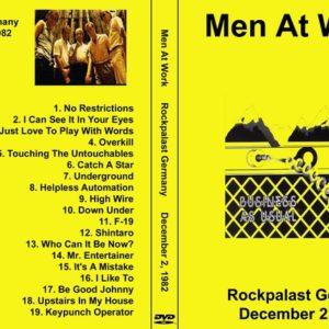 Men At Work 1982-12-02 Rockpalast, Germany DVD