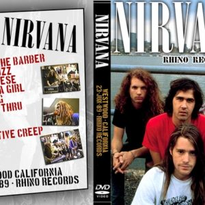 Nirvana 1989-06-23 Rhino Records, Westwood, CA DVD