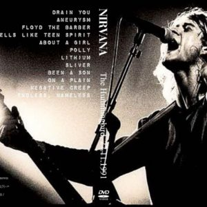 Nirvana 1991-11-27 The Hummingbird, Birmingham, UK DVD