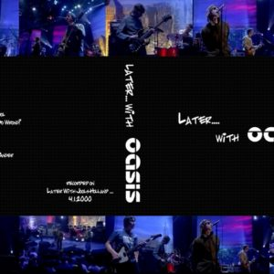 Oasis 2000-04-01 Later with Jools Holland DVD