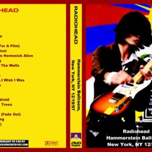 Radiohead 1997-12-19 Hammerstein Ballroom, New York, NY DVD