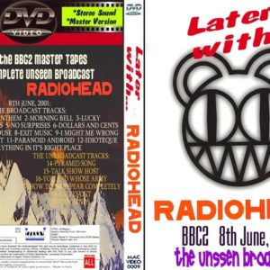 Radiohead 2001-06-08 Later with Jools Holland DVD