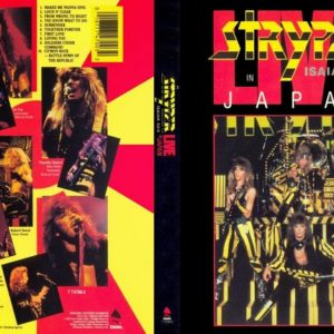 Stryper 1986 Live In Japan DVD