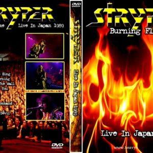 Stryper 1989 Buning Flame, Japan DVD