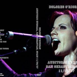 Dolores O'Riordan 2007-11-06 Auditorio Kursaal, San Sebastian, Spain DVD