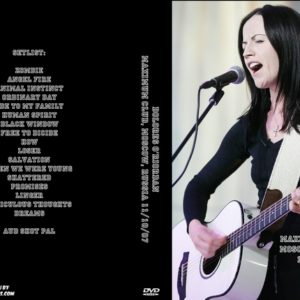 Dolores O'Riordan 2007-11-10 B1 Maximum Club, Moscow, Russia DVD